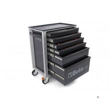 Beta C24S 6/G Gereedschapswagen met 235 Delige Easy Foam Inlay
