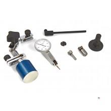 Dasqua Professionele 0.01 mm Zwenktaster met Magnetisch Statief