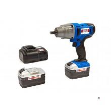 "HBM 1/2"" Electrische Slagmoersleutel 18Volt 4.0AH - 520 NM"