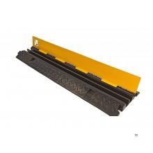 HBM 100 cm. Kabelbrug / Kabelgoot Met Klep en 2 kanalen