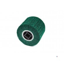 HBM Nylon Web Schuurcylinder voor Satineermachine 100 x 120 mm.