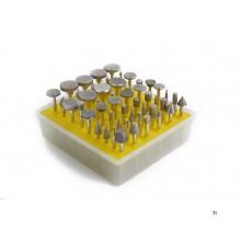 HBM 50 Delige Diamanten Stiftfrezenset