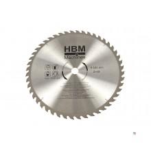 HBM 400 x 48T Cirkelzaagblad voor Hout - ASGAT 30 mm.