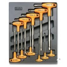 BETA T50 - 11 Delige gereedschap Foam inlay