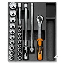 BETA T83 - 24 Delige gereedschap inlay