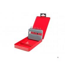 HBM 7 Delige Profi HM Frezenset met 3 mm. Opname