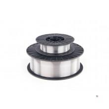HBM 0.5 Kg 0,8 mm Aluminium Lasdraad op 100 mm Spoel