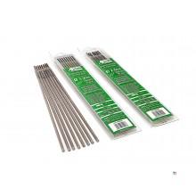 Telwin Rutiel Laselektroden voor RVS Ø 2.5 x 300 mm 10 Stuks