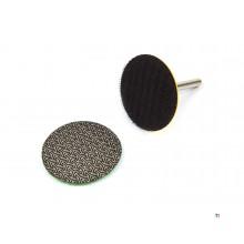 HBM 50 mm. Diamantwetsteen met 6 mm Houder