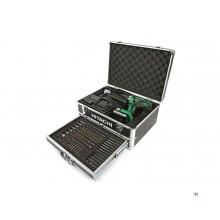 Hitachi DS18DJL 18V 1.5 AH In Alu Koffer met 100 Delige