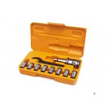 HBM ISO 30 Spantangenset
