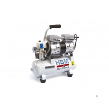 HBM 9 Liter Professionele Low Noise Compressor