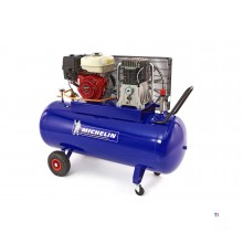 Michelin 270 Liter 9 PK. Benzine aangedreven Compressor met