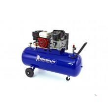 Michelin 200 Liter 5,5 PK. Benzine aangedreven Compressor met
