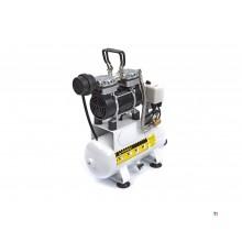 HBM 4 Liter Professionele Low Noise Airbrush Compressor