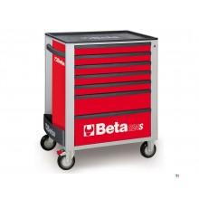 Beta 7 Laden Gereedschapswagen Rood - C24S 7/R - 024002073