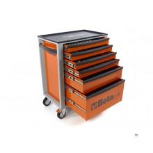 Beta C24S 6/O Gereedschapswagen met 235 Delige Easy Foam Inlay
