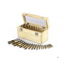 HBM 20 Delig HSS - Tin Gecoate Frezenset Model 1