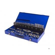 HBM 56 Delige Tap en Snijset M3 – M20