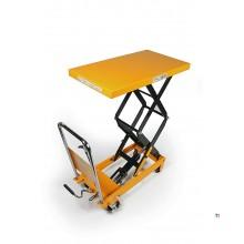 HBM 350 Kg. Hoog Verrijdbare Werktafel / Heftafel