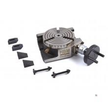 HBM 100 mm Verdeeltafel met Opspanset