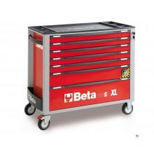 Beta 7 Laden XL Gereedschapswagen Rood - C24SA-XL 7/R -