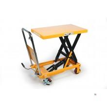 HBM 500 Kg. Verrijdbare Werktafel / Heftafel