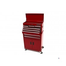 HBM Tool trolley inkludert Top box