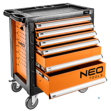 neo tool trolley 6 drawers luxury central lock