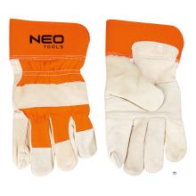 Neo arbetshandskar läder 10