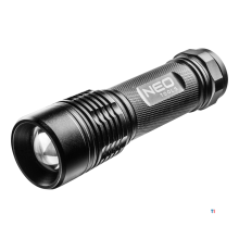 NEO flashlight pro, ipx7 zoom funktion