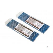 10Stk HBM electrodos de tungsteno de la turquesa