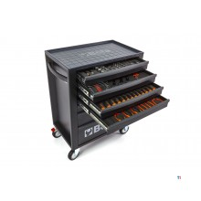 Beta 7 Loading tool trolley C24S with Beta 146 part Easy filling for tool rest