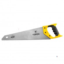 topex hand saw 400mm 7 tpi, with protective cover fast cut