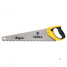 TOPEX handzaag 450mm aligator 7 tpi fast cut