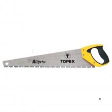 TOPEX handzaag 500mm aligator 7 tpi fast cut