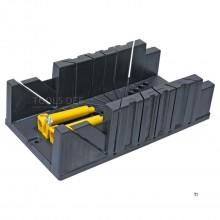 boîte à onglets topex 320x120x75mm modèle en plastique