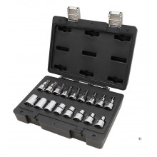 Beta Easy-bucata 17 1/2 intern / extern Torx soclu set
