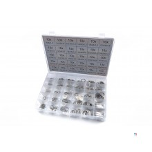 HBM 300 piece aluminum rings assortment