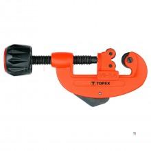 coupe-tube topex 3-32mm adapté pour cu-al-pvc-pe-pp