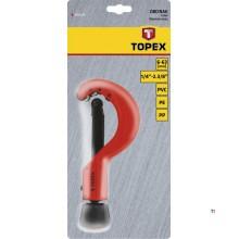 coupe-tube topex 6-63mm adapté pour cu-al-pvc-pe-pp