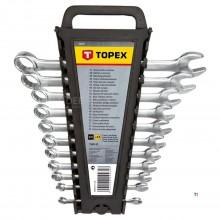 anillo TOPEX / llave de tubo de 6-22mm 12 partes