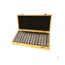 Dasqua professional 14-piece 150 mm parallel set