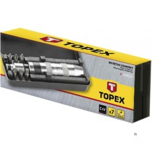 topex impact screwdriver 8 parts 1/2 'and 5/16' connection