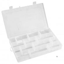 bac de tri topex 35 x 22,8 x 4,9 cm 14 compartiments