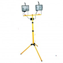 topex construction lamp tripod 500w double ip 54