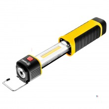 TOPEX led zaklamp cob led inklapbaar