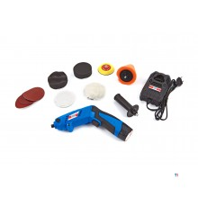 HBM professional polisher, battery sander - 75 mm