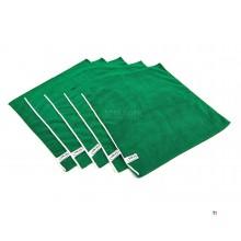 vikan basic panno in microfibra verde