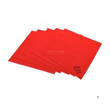 Vikan Luster Microfiber Glass Cloth Red
